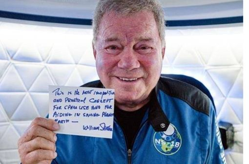 Captain Kirk im Blaumann