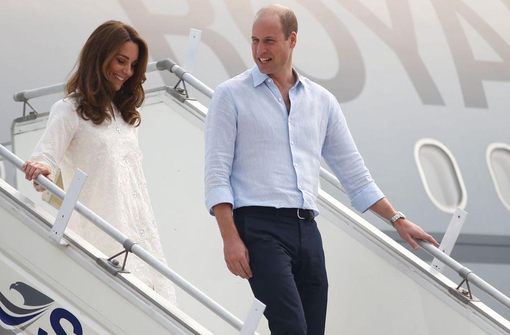 William und Kate setzen in ihrer Weihnachtspost eher auf Sommer. Foto: imago images/PA Images/PETER NICHOLLS
