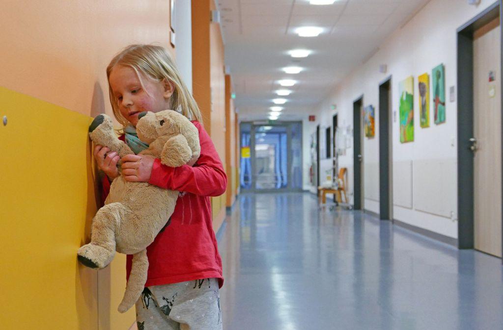 Blick in die Pädiatrische Psychosomatik der Kinder- und Jugendklinik in Gelsenkirchen Foto: SWR/Jörg Adolph