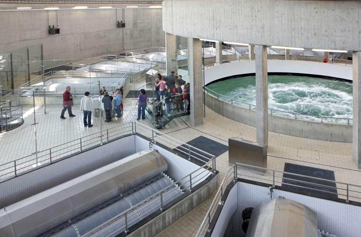 Das Bodenseewasser wird zunächst auf den Sipplinger Berg gepumpt und dort aufbereitet. Foto: BWV/Otlinghausen