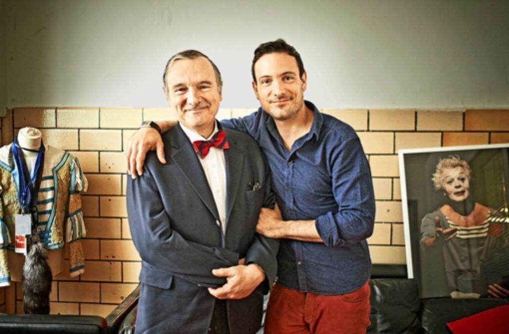 Mit Rhythmus, und  Musik lässt sich Apathie vertreiben – das wissen Serge (links) und Eric Gauthier. Foto: Heinz Heiss