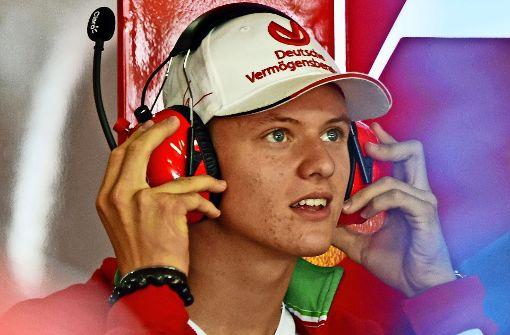 Mick Schumacher hat die Formel 1 im Blick