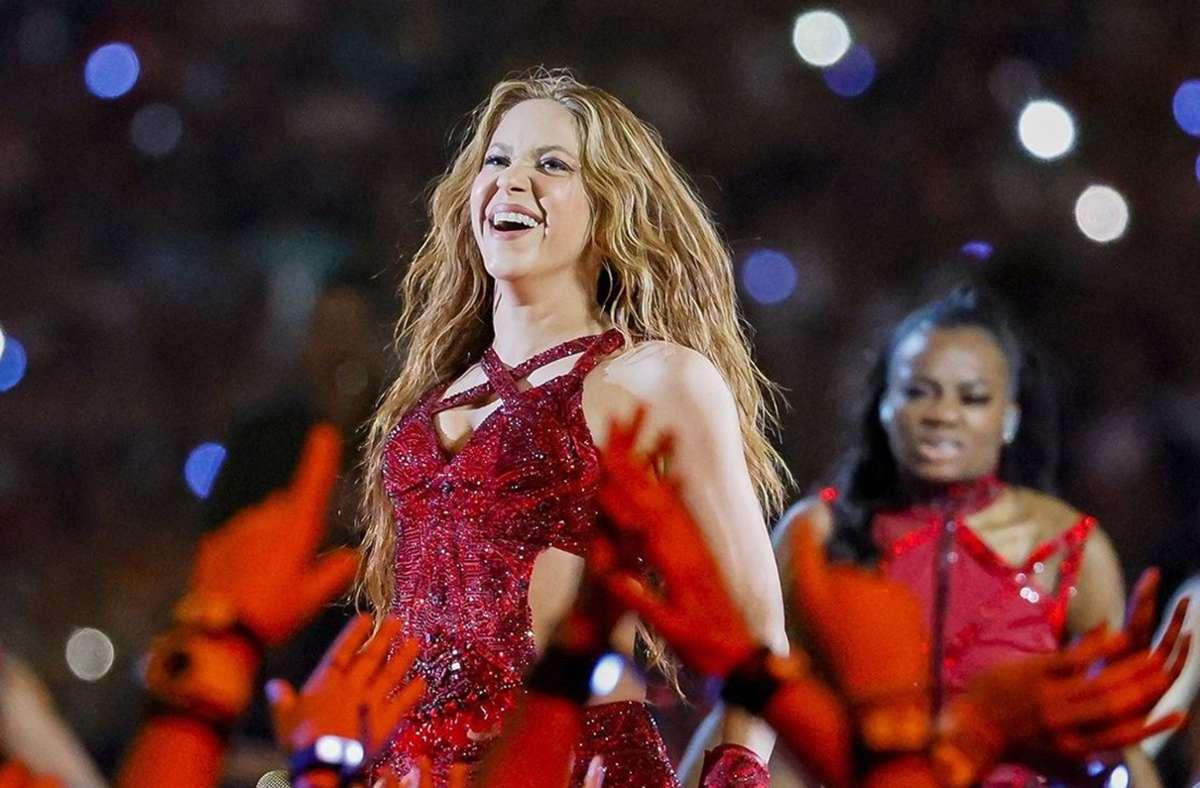 Shakira hat fast alle ihre Hits selbst geschrieben – und verkauft sie jetzt. Foto: dpa/Al Diaz