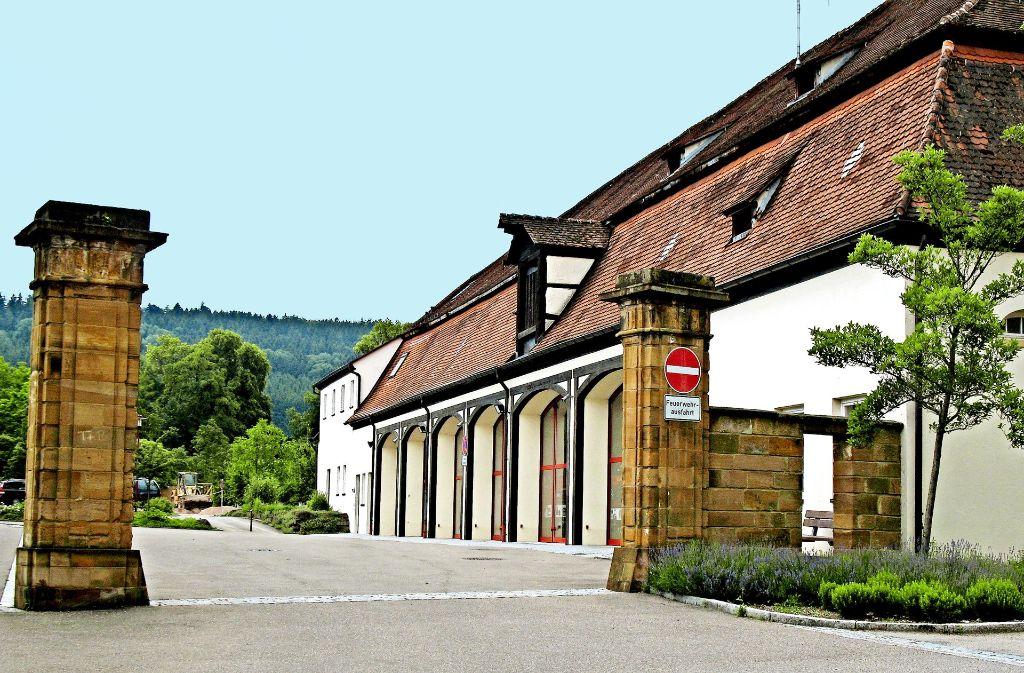 Die Donzdorfer Feuerwehr ist  – noch – im Marstall untergebracht. Foto: Stadtverwaltung