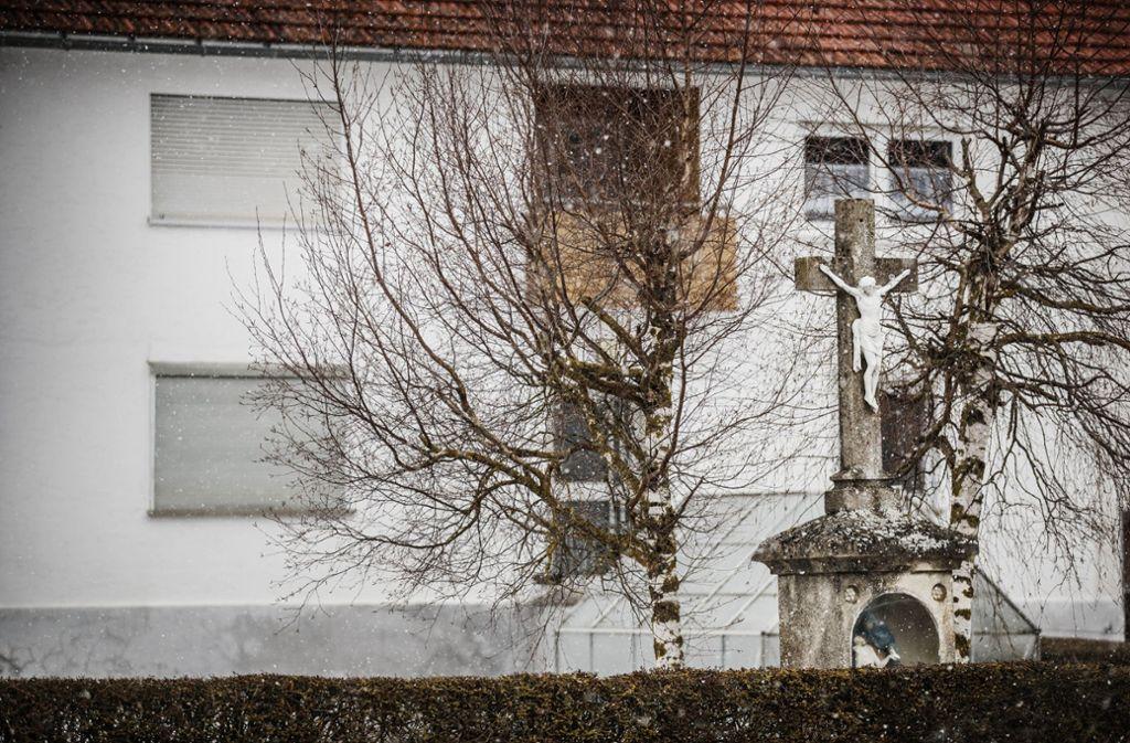 """Hülen auf dem Härtsfeld: """"Da, wo es immer einen Kittel kälter ist."""" Foto: Gottfried Stoppel"""