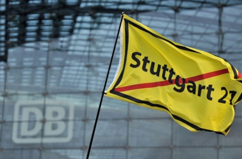 Stuttgart 21 scheint sich auch zu einem beherrschenden Thema im OB-Wahlkampf zu entwickeln. Foto: dpa