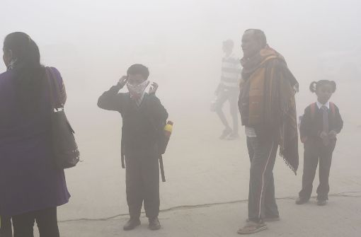 Schulen in Neu Delhi trotz Dauer-Smogs wieder geöffnet