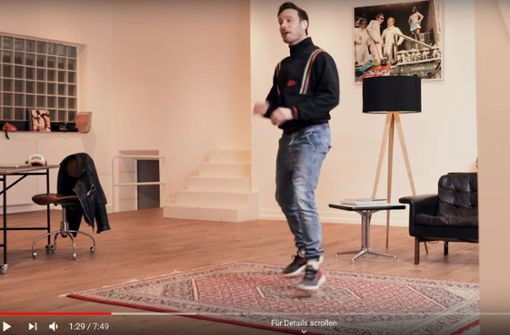 Eric Gauthier bittet zum Online-Tanztee