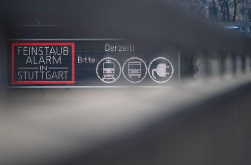 Stuttgart ruft erneut Feinstaubalarm aus