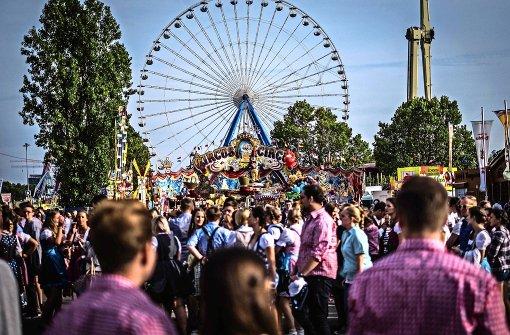 Vier Millionen Besucher beim Cannstatter  Volksfest