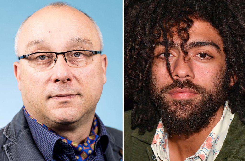 Der AfD-Abgeordnete Jens Maier beleidigt Noah Becker via Twitter rassistisch. Foto: dpa