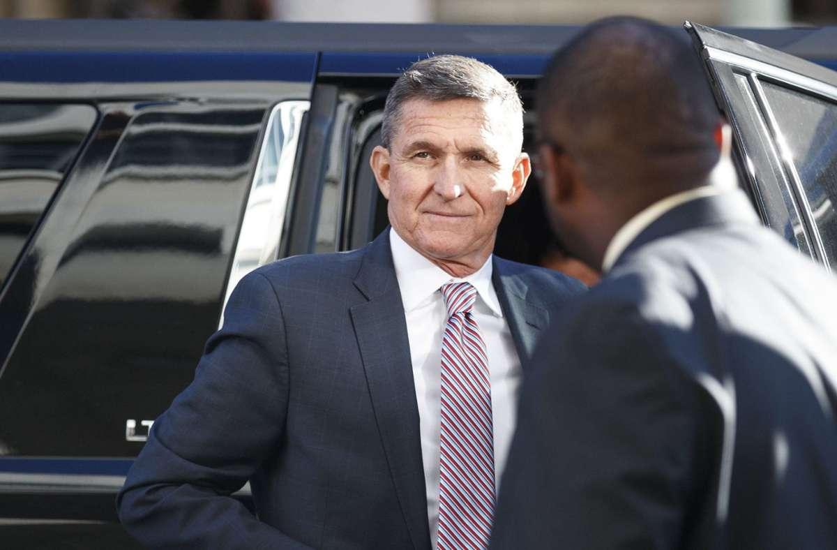 Michael T. Flynn wurde von US-Präsident Donald Trump begnadigt. (Archivbild) Foto: dpa/Carolyn Kaster