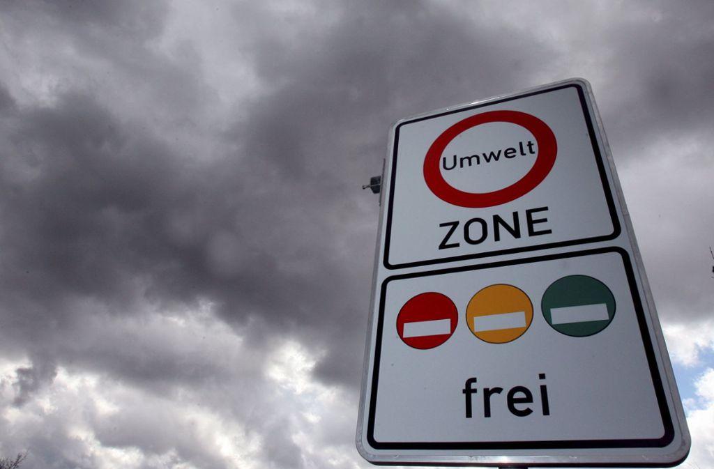 Auch das Konzept der Umweltzonen hat der Lobbyverein EUGT attackiert. Foto: dpa