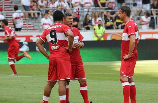 Krassimir Balakov erzielt Siegtor im Spiel der Legenden