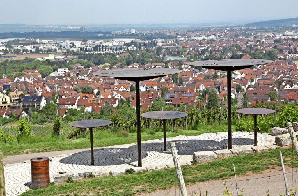 Die Panorama-Terrassen auf dem Kappelberg ist ein beliebter Ort für Trauungen. Foto: Patricia Sigerist