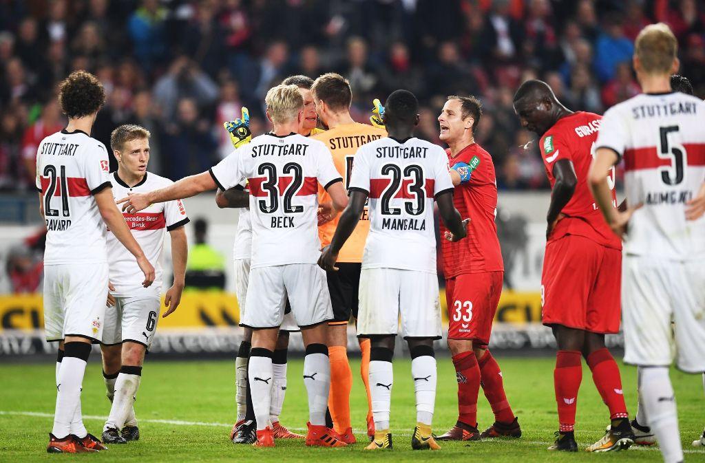 Unsere Redaktion hat die Leistung der VfB-Spieler benotet. Alle Bewertungen finden Sie in der Bilderstrecke. Foto: Bongarts