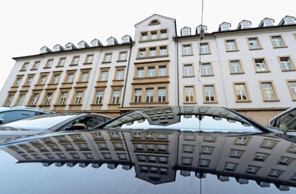 """Das """"Hotel Silber"""" war Gestapo-Zentrale für Württemberg und Hohenzollern. Foto: dpa"""