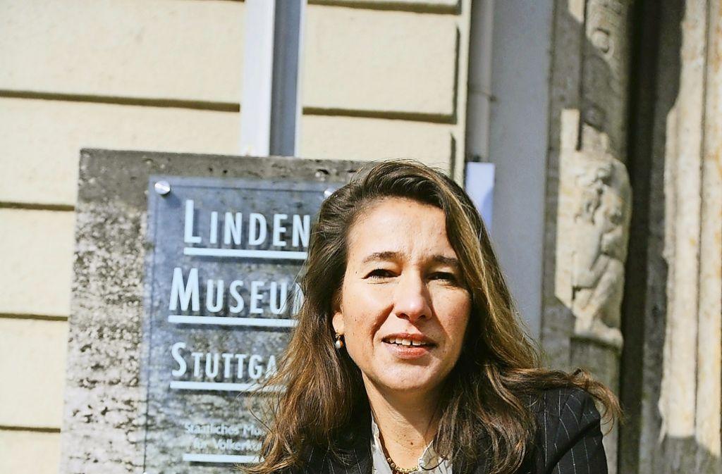 Inés de Castro kämpft in ihrem Museum mit vielen baulichen Mängeln. Foto: Achim Zweygarth