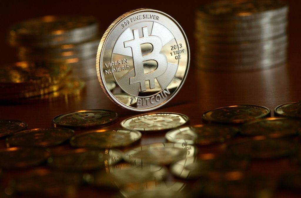 Die virtuelle Währung Bitcoin wurde zur Geldwäsche benutzt. Foto: dpa-Zentralbild