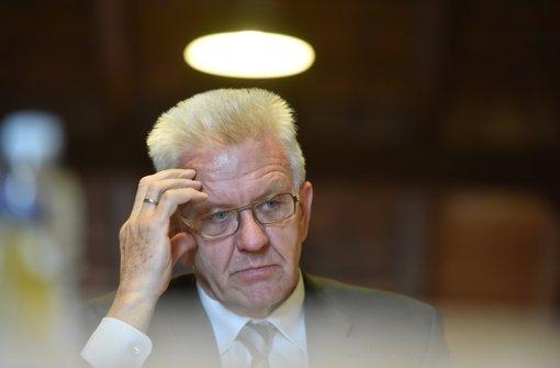 Kretschmann bremst Altpeter aus