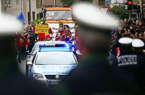 Polizei und Feuerwehr haben Großeinsatz