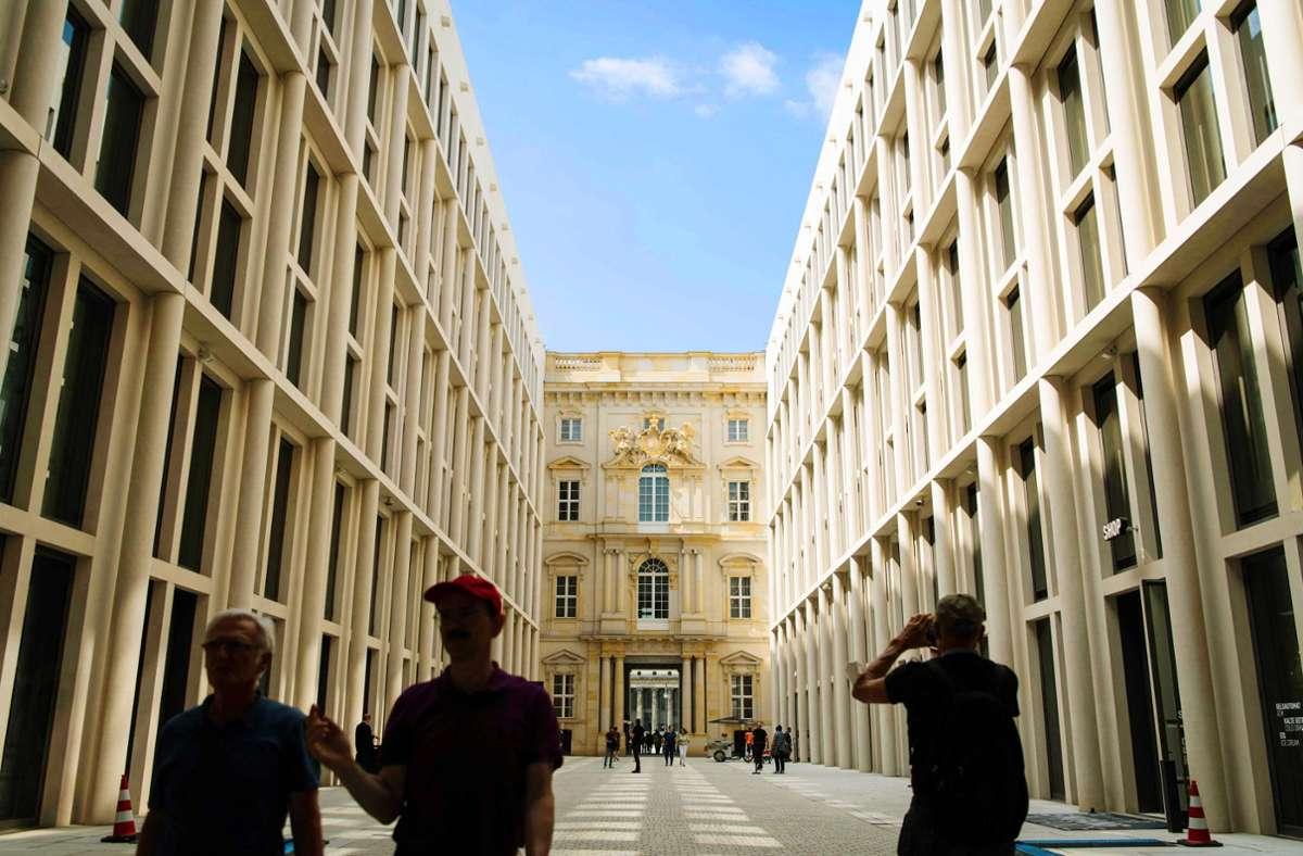 Von nun an ist das Berliner Schloss, das das Humboldt-Forum beherbergt, auch für den Publikumsverkehr geöffnet. Foto: AFP/Stefanie  Loos