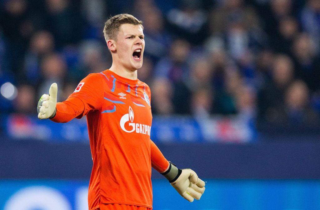 Alexander Nübel: Der  Schalke-Keeper wechselt zu den Bayern. Foto: dpa/Rolf Vennenbernd