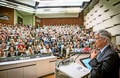 Der beliebteste Uni-Rektor kommt aus Stuttgart-Hohenheim