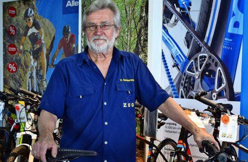 Der Fahrradexperte will endlich selbst Fahrrad fahren