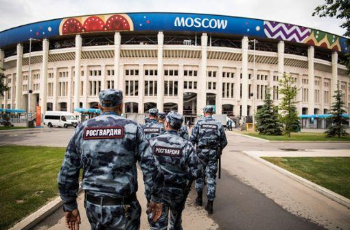 Russland ist für Hooligans kein gutes Pflaster