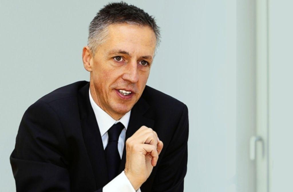 Stabilität gebe es  in der ganzen IT-Branche nicht, sagt der HP-Deutschlandchef Volker Smid. Foto: HP