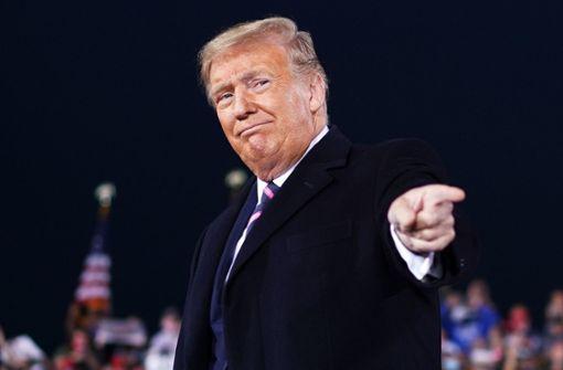 Donald Trump will friedliche Machtübergabe nach Wahl nicht garantieren