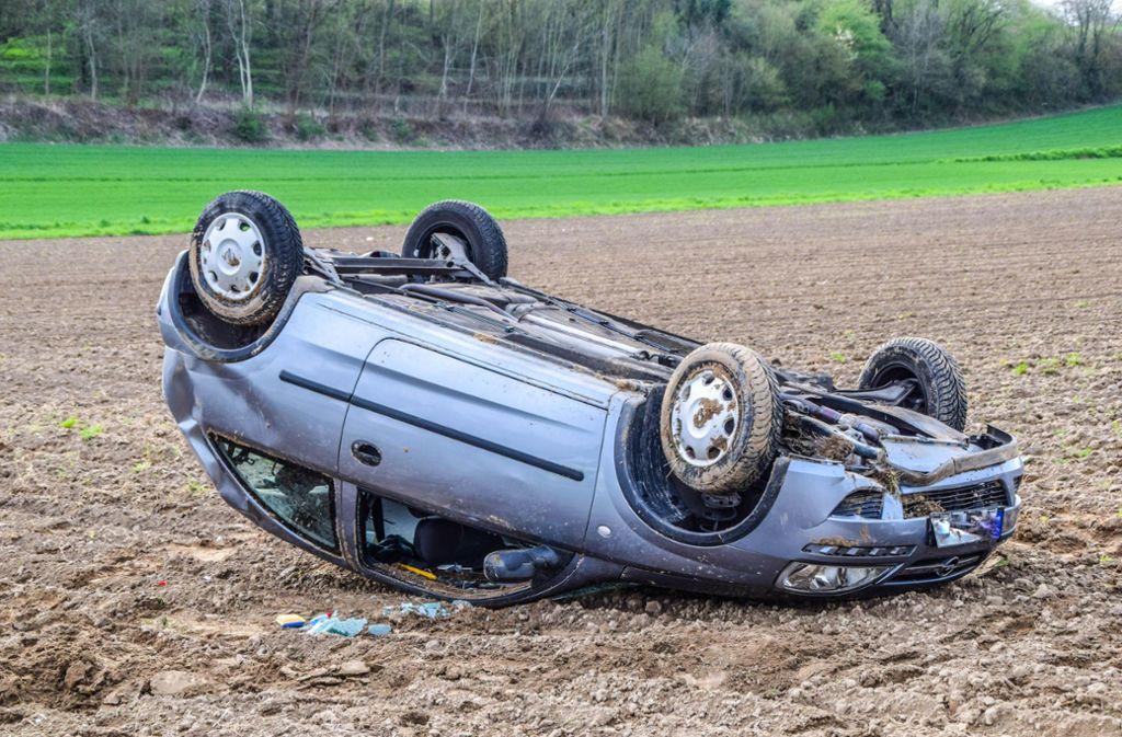 Zu einem tödlichen Unfall ist es am Sonntag im Kreis Göppingen gekommen. Foto: 7aktuell.de/Fabian Geier