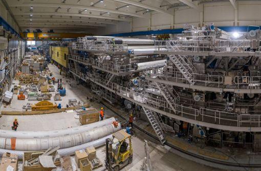Papierfabriken hoffen auf Verpackungen