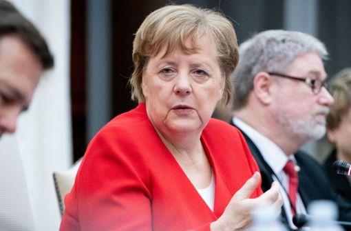 Angela Merkel fordert Korrektur
