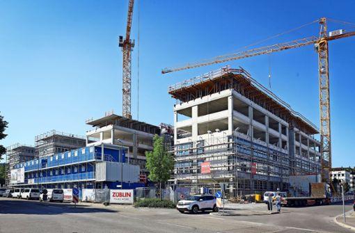 Große Bauprojekte nehmen Gestalt an