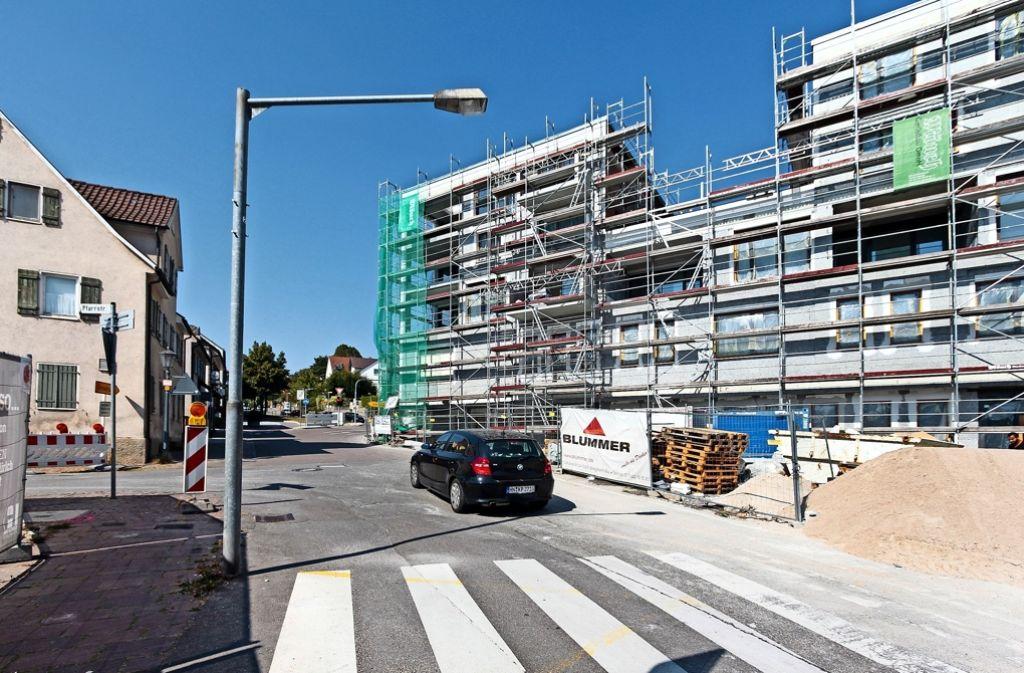 Nach Angaben der Bietigheimer Wohnbau ist man im Zeitplan. Foto: factum/Granville