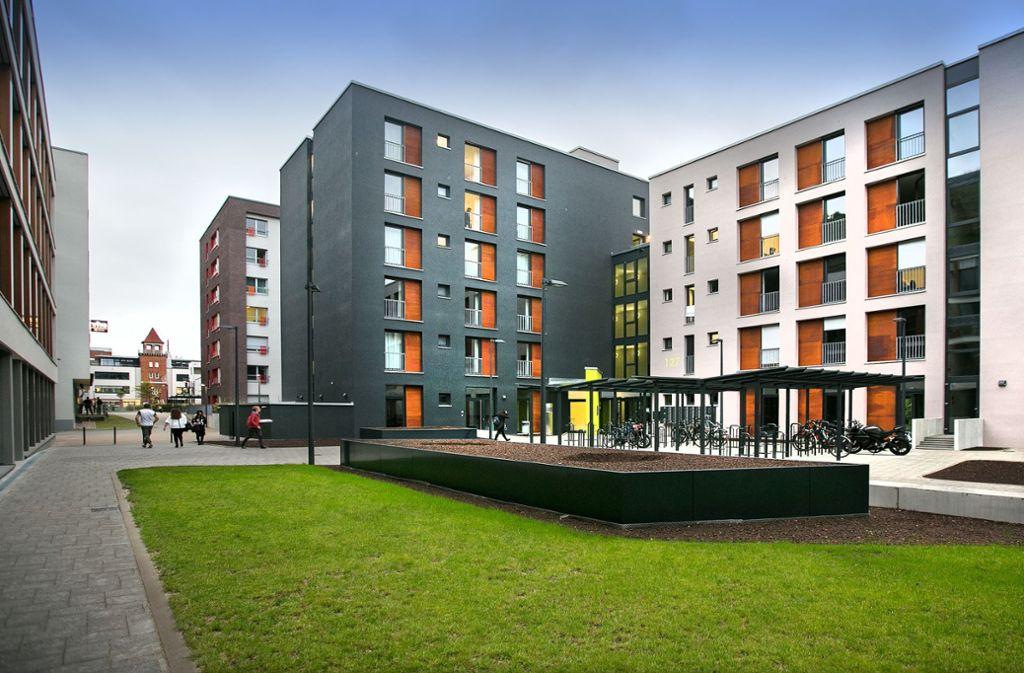 Die Studentenwohnheime auf dem Hengstenberg-Areal sind ausgebucht. Foto: