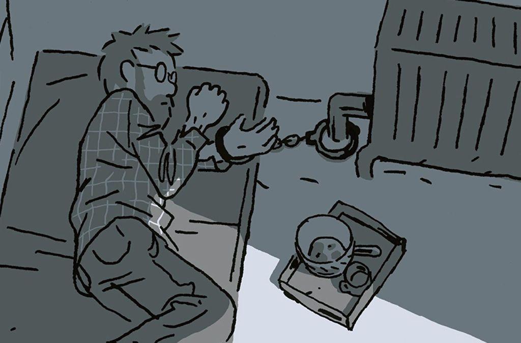 """In seinem neuen Comic """"Geisel"""" erzählt Guy Delisle von einem realen Entführungsfall. Foto: Reprodukt"""