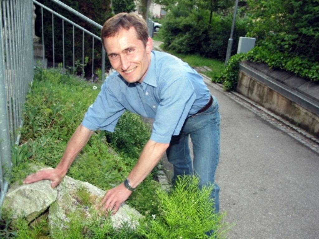 Martin Schröter ist der BUND-Vorsitzende in Rommelshausen und Stetten. Foto: Herschmann