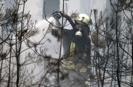 Kriminaltechniker schließen Brandstiftung nicht aus