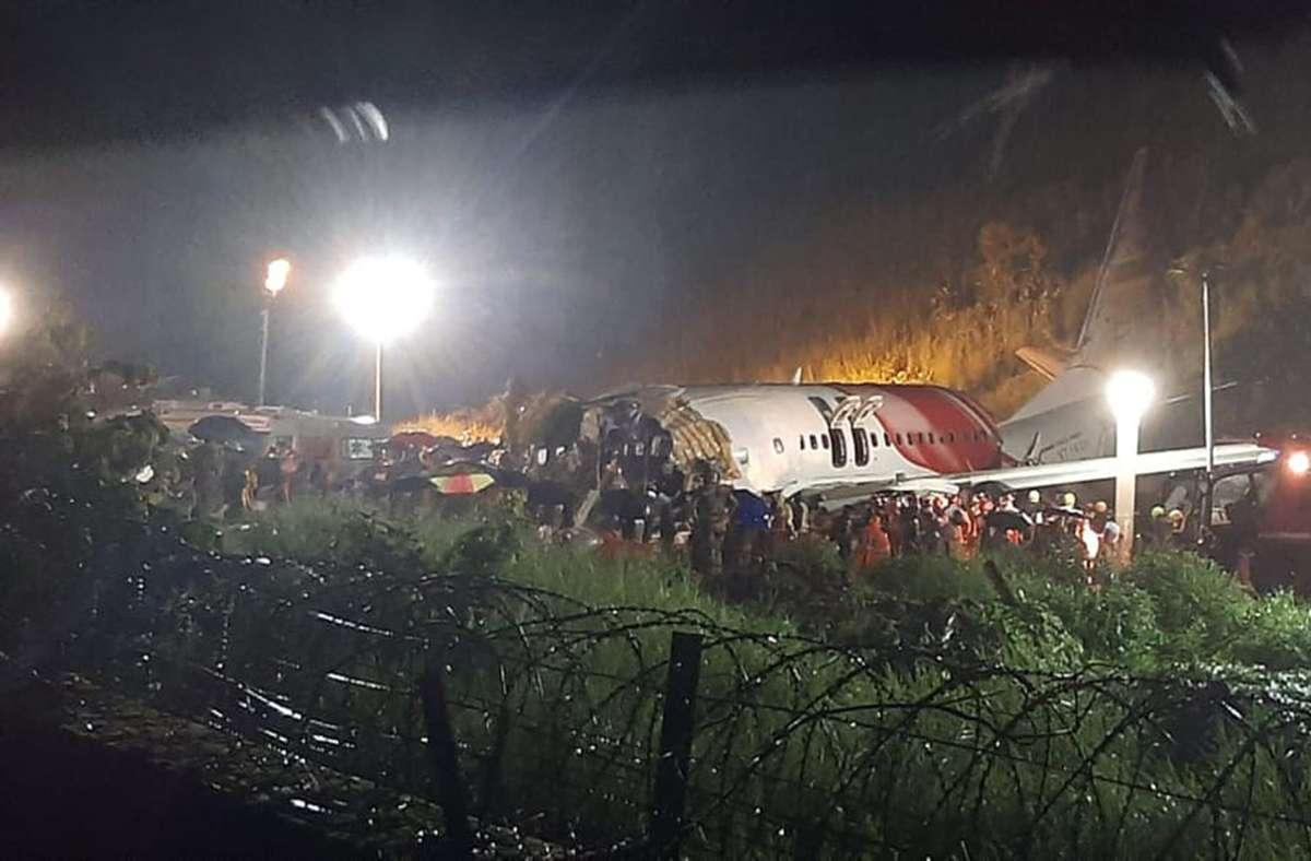 Eine Air-India-Express-Maschine ist am Freitag verunglückt. Foto: AP/Markus Mainka