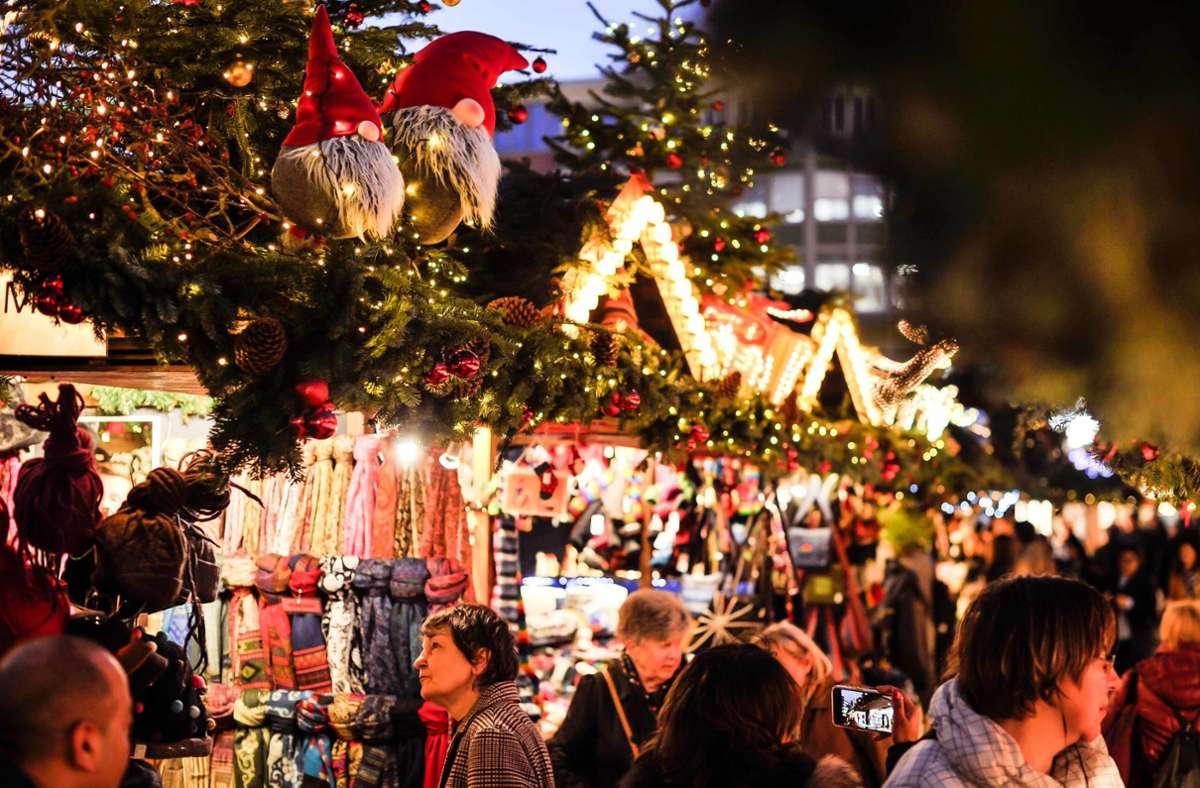 Gedränge wie im letzten Jahr ist Weihnachten 2020 tabu. Foto: Lichtgut/Max Kovalenko