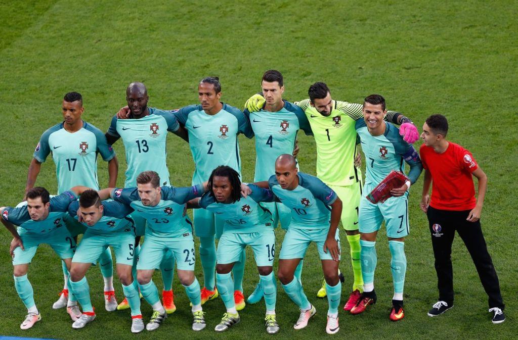 Fussball Wales Gegen Portugal