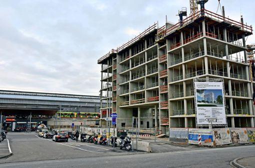 Nicht nur Karlsruhe wächst in die Höhe