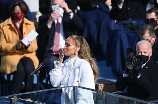 Mega-Stars feiern Joe Biden und Kamala Harris