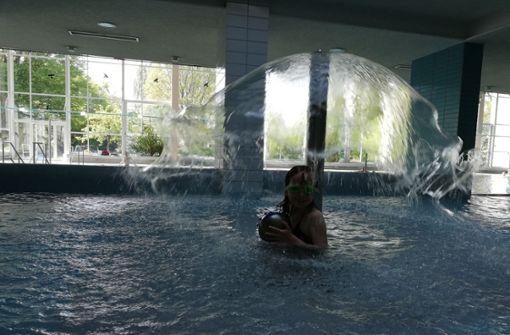 Die Schwimmer wollen ihr Bad behalten
