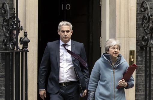 Brexit-Debatte im britischen Parlament - Mays Schicksalswoche