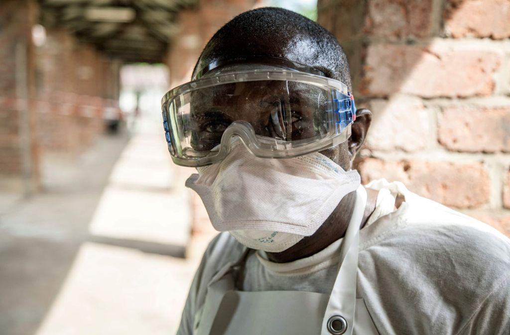 Im Kongo ist ein dritter Fall des gefährlichen Ebola-Virus bestätigt worden. Foto: AFP