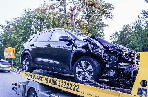 36-jähriger Autofahrer bei Unfall verletzt